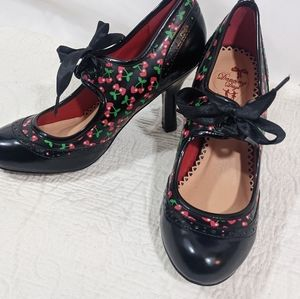 Dancing Days by Banned Cherry Rockabilly Shoes